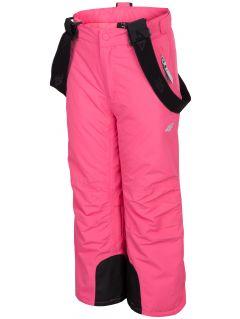 Pantaloni de schi pentru copii mici (fete) JSPDN301 - fuxie