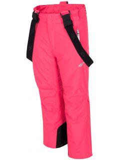 Pantaloni de schi pentru copii mari (fete) JSPDN401 - fuxie