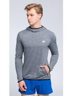 Bluza de antrenament pentru bărbaţi BLMF003 - gri deschis