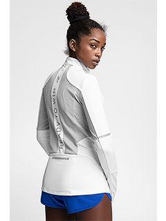 Bluza de antrenament pentru femei BLDF102 - alb