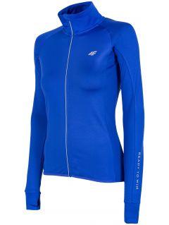 Bluză de alergare pentru femei BLDF150 - cobalt