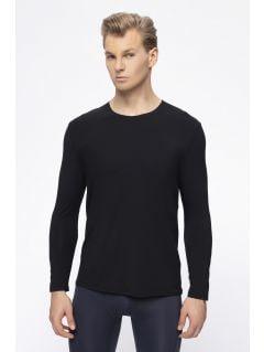 Tricou cu mânecă lungă pentru bărbați 4FPro TSML400 - negru