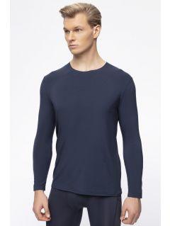 Tricou cu mânecă lungă pentru bărbați 4FPro TSML400 - bleumarin