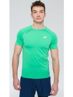 Tricou de antrenament pentru bărbaţi TSMF203 - verde