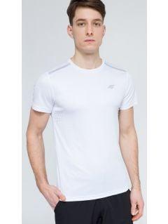 Tricou de antrenament pentru bărbaţi TSMF205 - alb