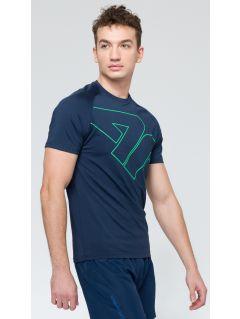 Tricou de antrenament pentru bărbaţi TSMF222 - bleumarin