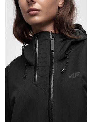 Jachetă funcțională pentru femei KUDT204 - negru profund