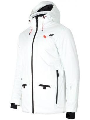 Jachetă de schi pentru bărbați KUMN255 - alb