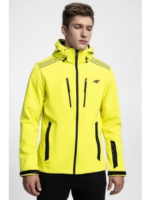 Jacheta softshell pentru bărbați SFM200 - galben
