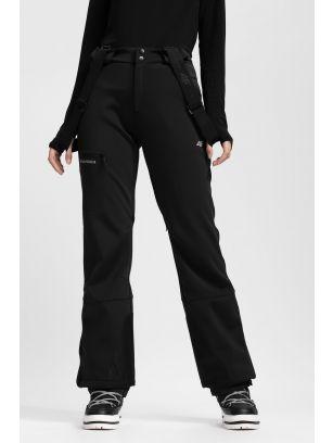 Pantaloni de schi pentru femei SPDN203 - negru profund