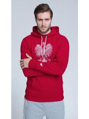 Bluza de suporter pentru bărbaţi BLM500 - ROŞIE