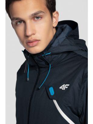 Jachetă de schi pentru bărbați KUMN255 - bleumarin închis