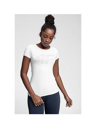 Tricou de antrenament pentru femei TSDF107 - alb