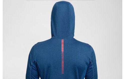 Bluza de antrenament pentru bărbaţi BLMF300 - cobalt melanj