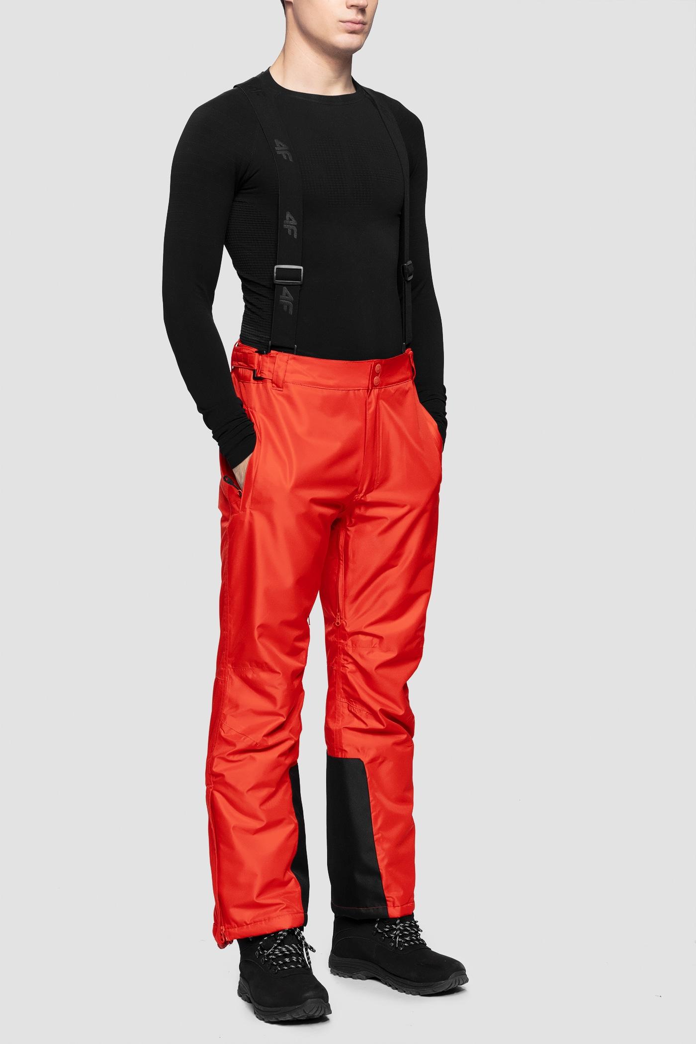 Imagine Pantaloni De Schi Pentru Barbati Spmn350 Rosu
