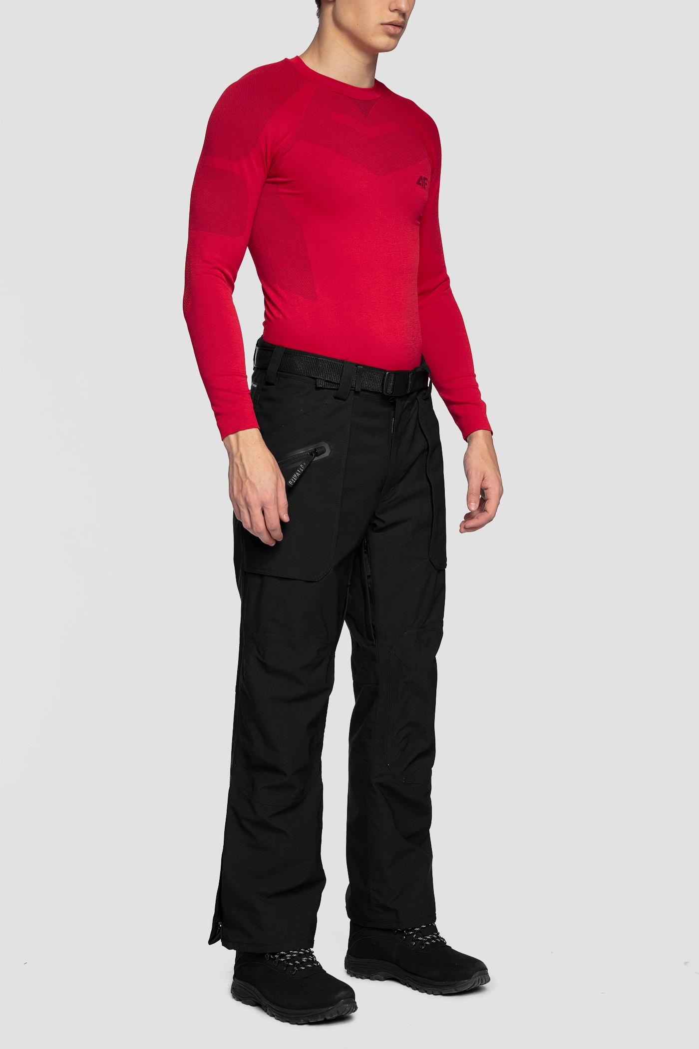 Imagine Pantaloni De Schi Pentru Barbati Spmn552r Negru Profund