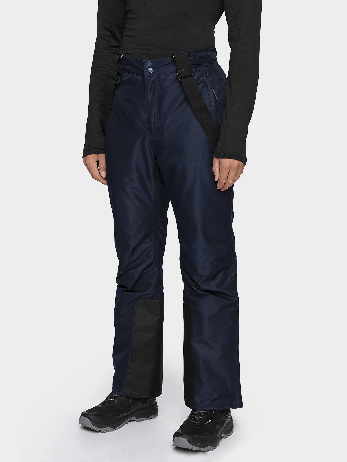 Imagine Pantaloni De Schi Pentru Barbati Spmn001 Bleumarin inchis