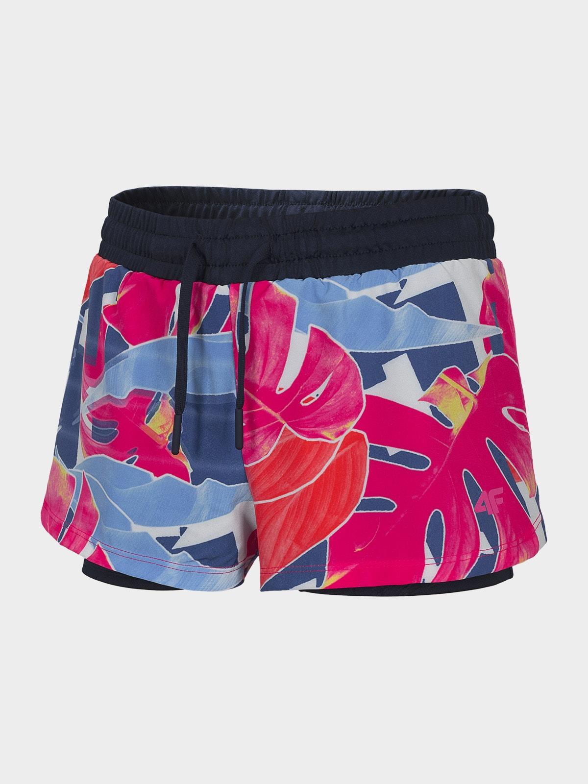 Imagine Pantaloni Scurti De Sport 2in1 Pentru Fete 122 164