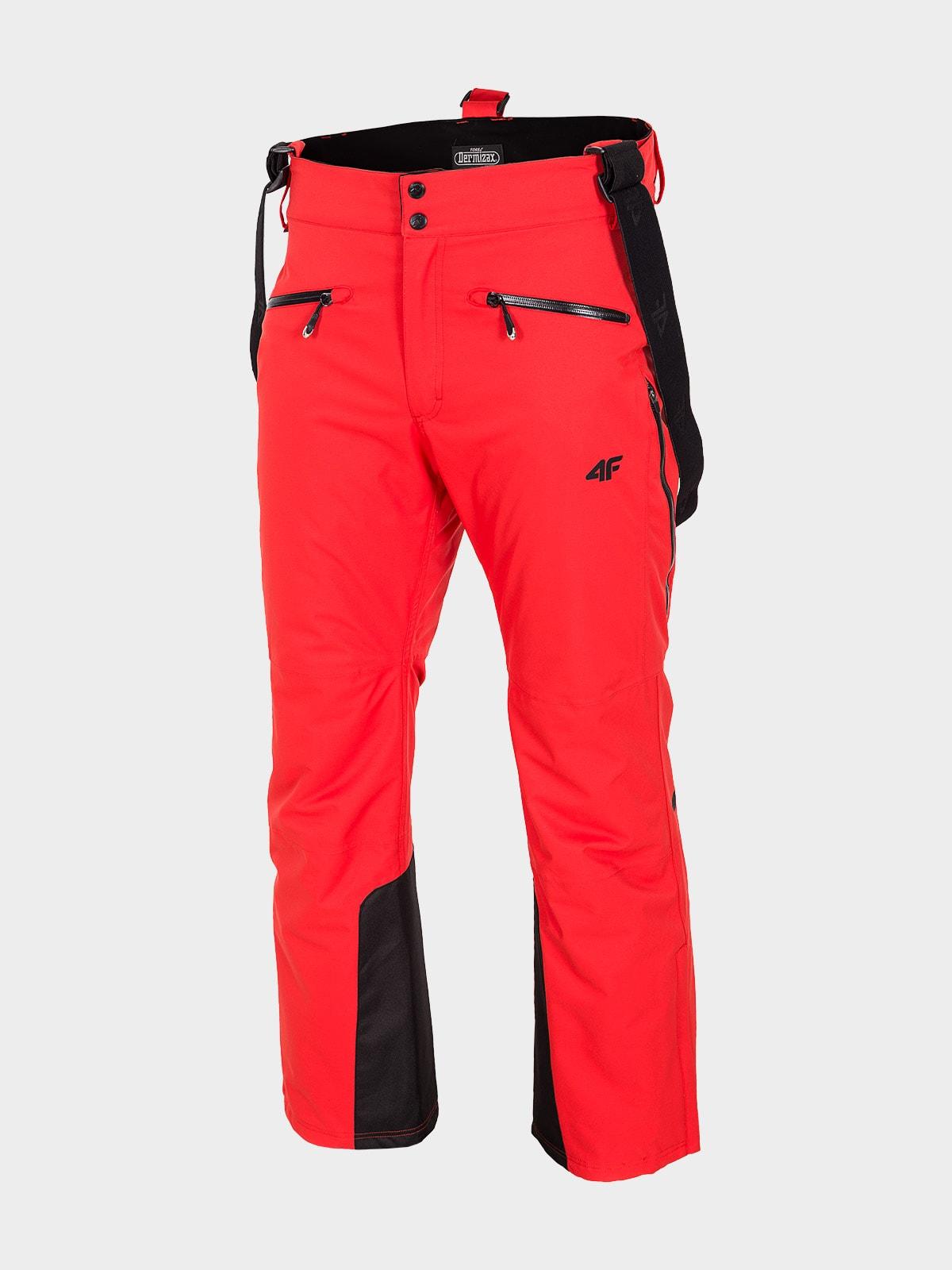 Imagine Pantaloni De Schi Pentru Barbati Spmn151 Rosu